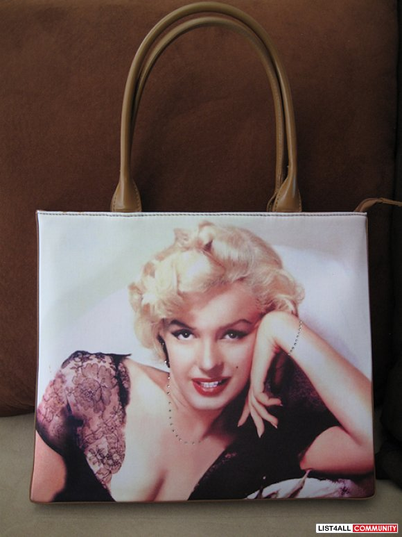 Marilyn Monroe Purse Handbag