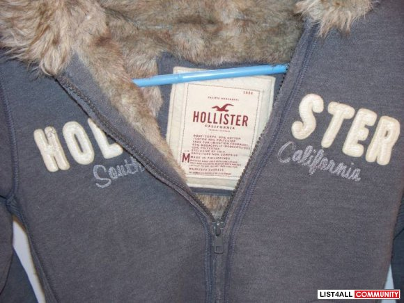 Hollister fur lined jacket medium banker0123 list4all Hollister live chat