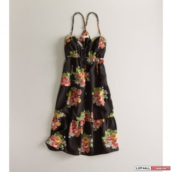 NEW w/TAGS AE American Eagle SWEET PRINTED SUNDRESS Size 2 Floral