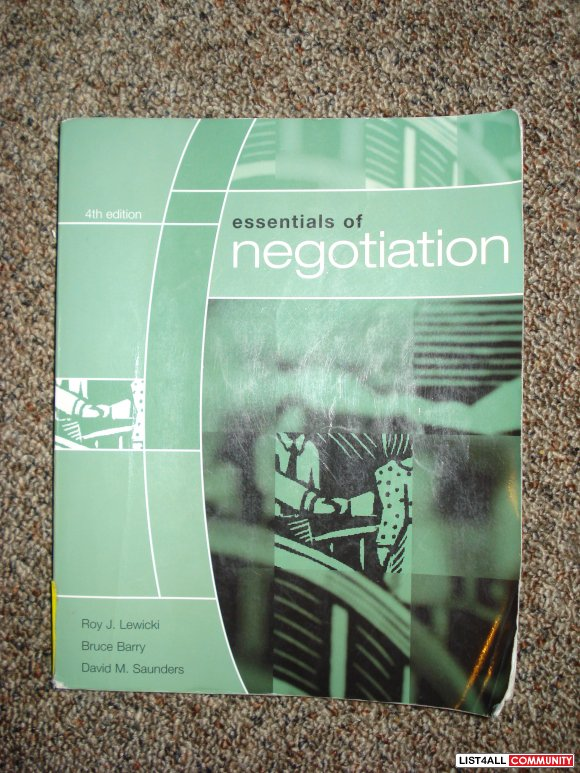 essentials of negotiation chapter 1 Test bank questions and answers for this book chapter 1 only by jeffrey_millinger.