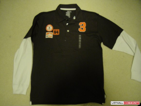 Brown Old Navy Polo with TAGS!