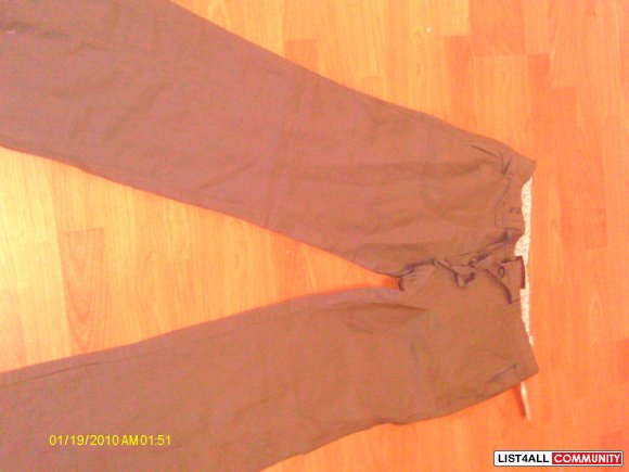 BNWT Cotton/Linen pants