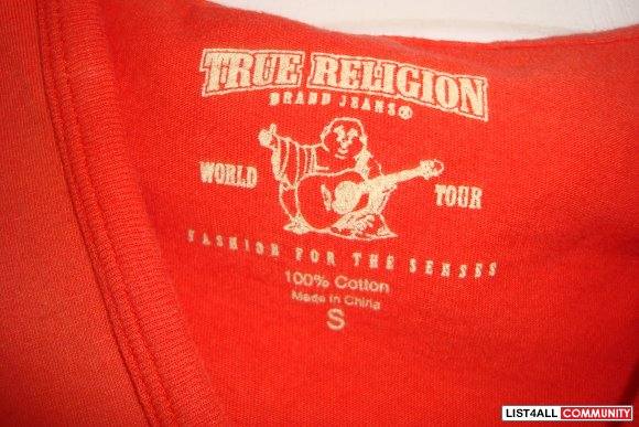 TRUE RELIGION TOP