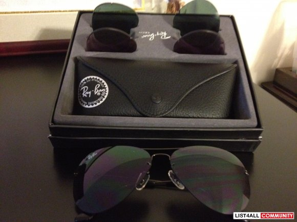 rb3460  Ray-Ban Flip Out Aviator Sunglasses RB3460 :: kaaren :: List4All