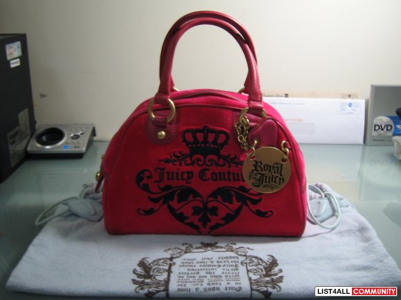 BRAND NEW AUTHENTIC JUICY COUTURE HANDBAG