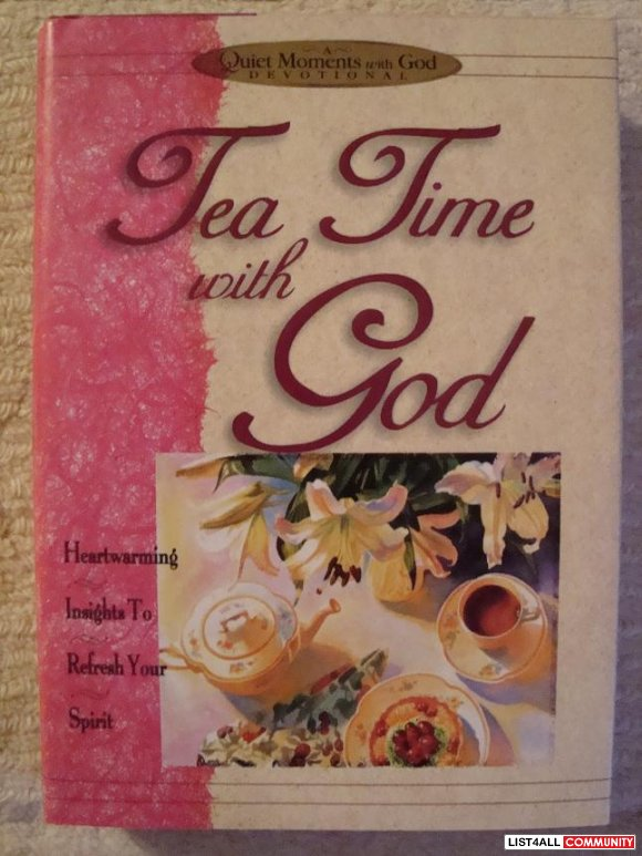 **NEW**  Tea Time with God  -   (hardcover with dust jacket)