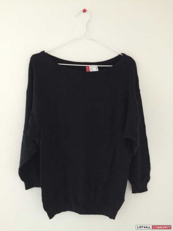 H&M Wide-neck Sweater