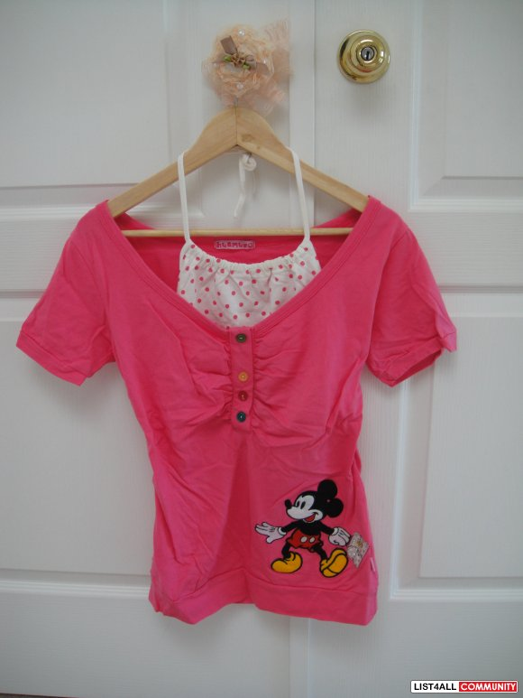 Micky Mouse Pink Summer