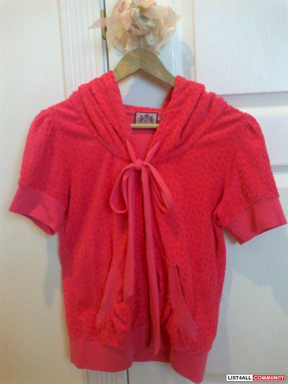 Juicy Couture: Pink Neon Sweater!!!! - $35