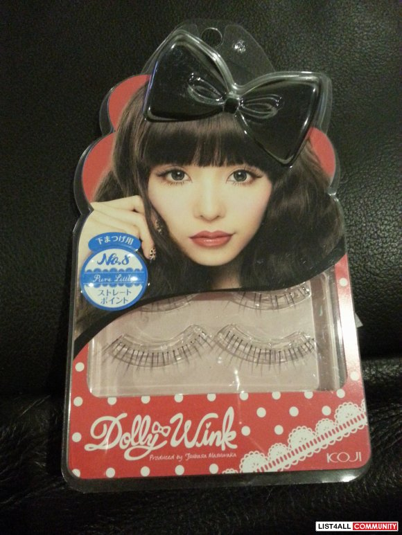 DOLLY WINK Eyelash No.8 Pure Little - $20