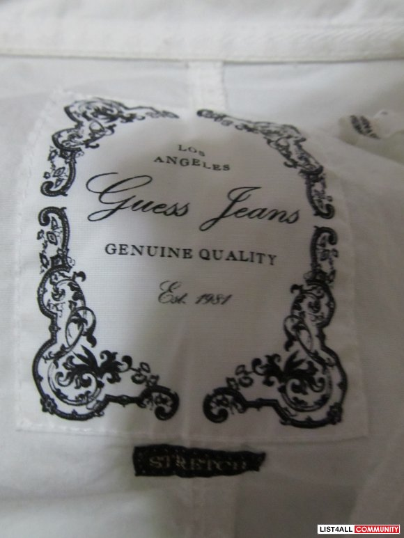 Guess Shirt with Corset at the back