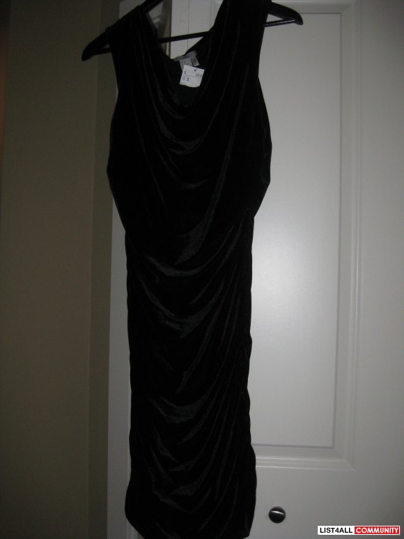 h&m women dresses black color brand new size M $ 25