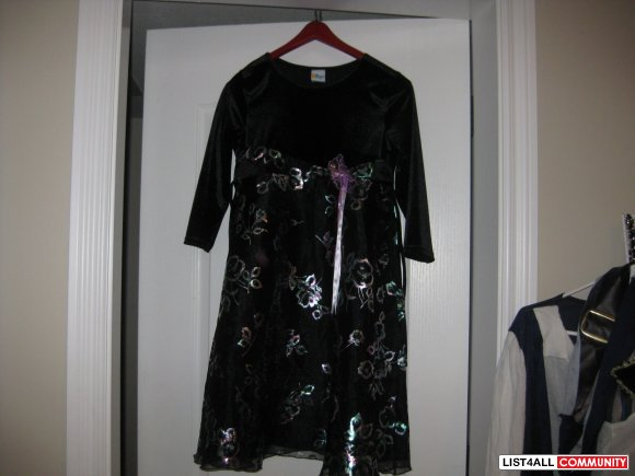 girls dresses black color  new size L  age 8 to 10 year $ 20