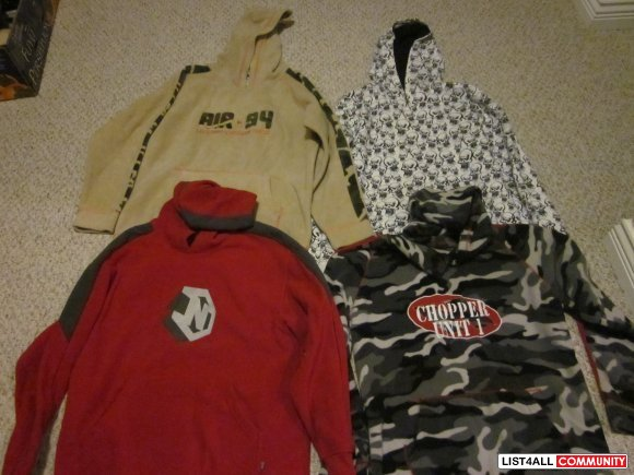 kids clothing boys size L age 10 & up brand new $ 10 each