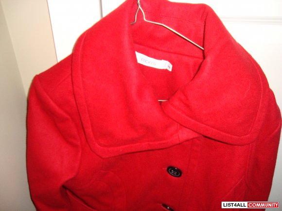 lady's coat red color size M brand new $ 60 each