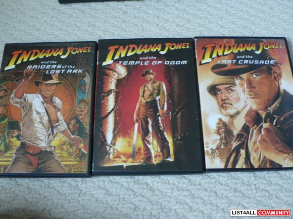 Indiana Jones Trilogy - new edition
