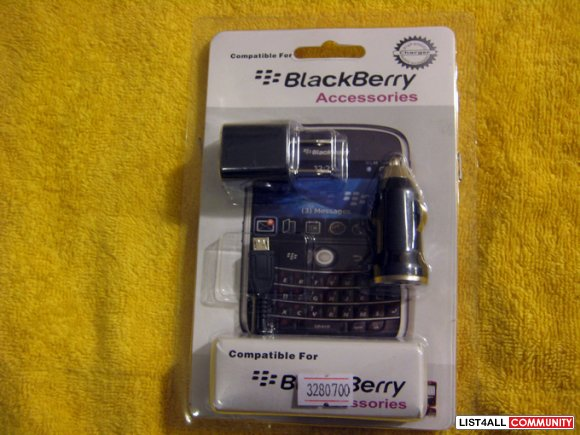 Blackberry/HTC/Samsung/LG smart phone USB charger