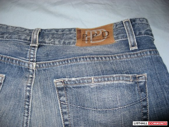PPD JRG Relax Fit Jeans Size 30