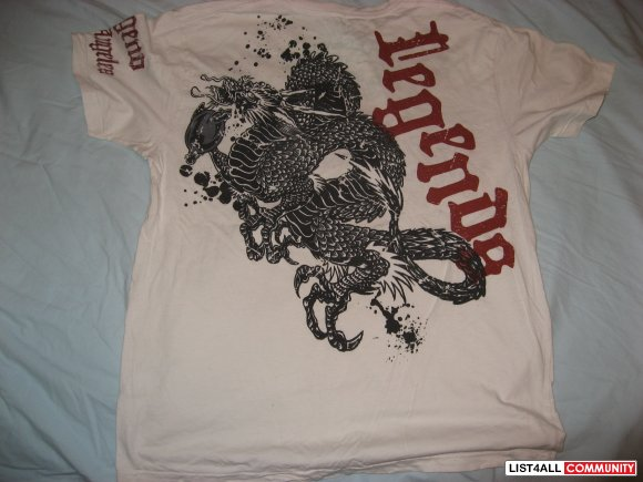 "Motor City Legends ""Dragon"" Tee Size M"