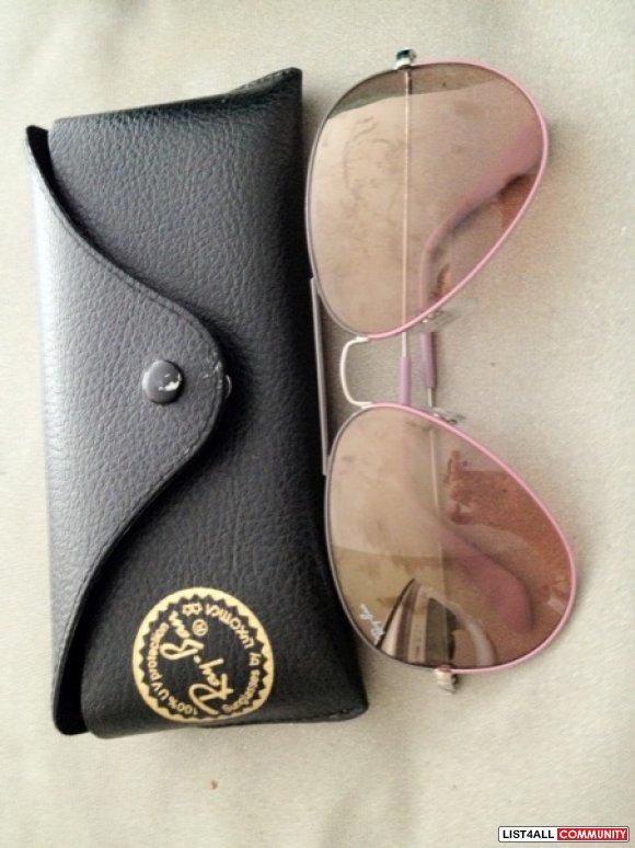 womens ray ban wayfarer sunglasses vc61  womens ray ban aviator pink