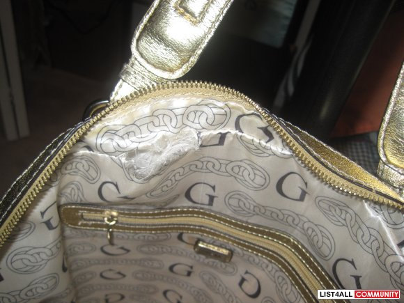 Guess Gold Bag