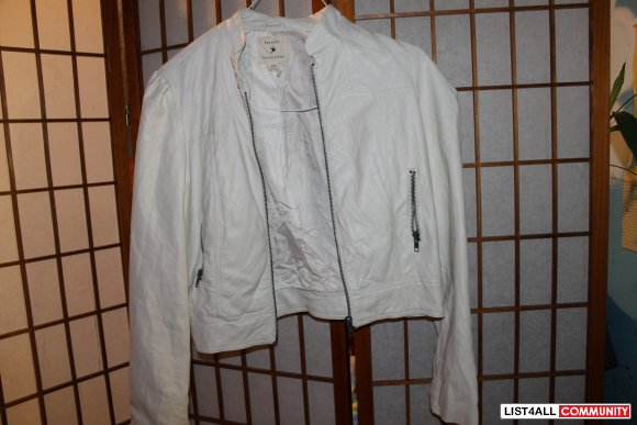 e7f87765b4ed forever 21 off white leather jacket    peachtree57    List4All