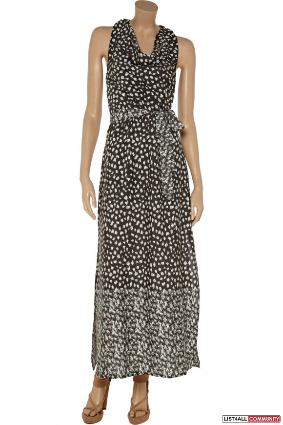 Walter Baker // Madison printed georgette maxi dress // Size S