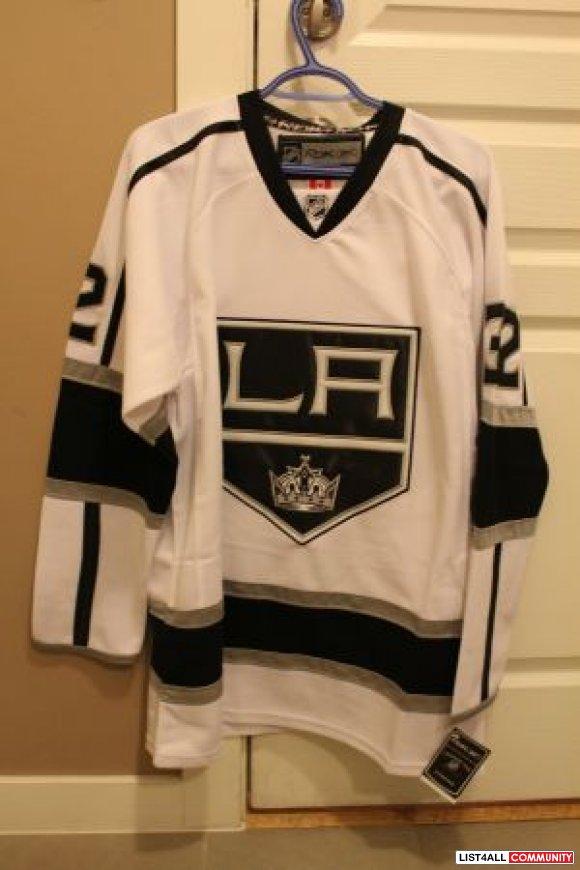 sneakers for cheap a2ac3 52c17 Brand New Reebok White Jersey - Jonathan Quick #32 LA KINGS ...