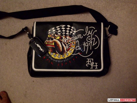 Ed hardy side bag