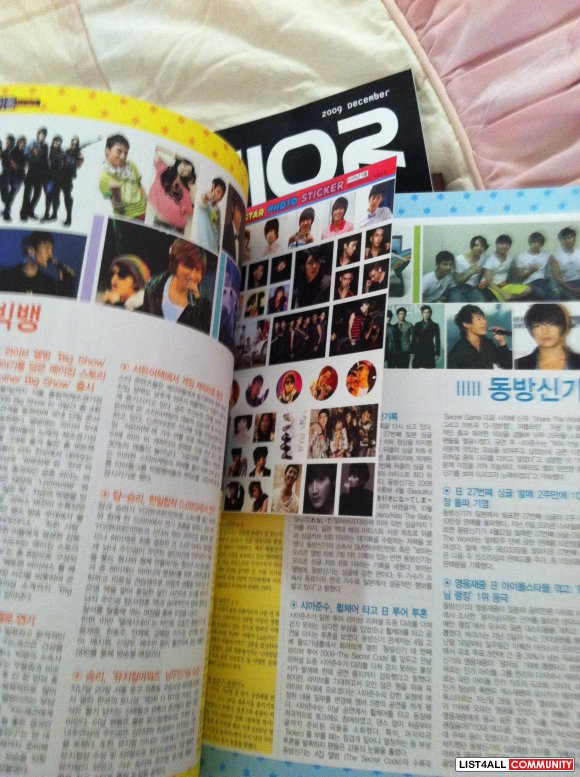 K-POP Magazines (FREEBIES INCLUDED)