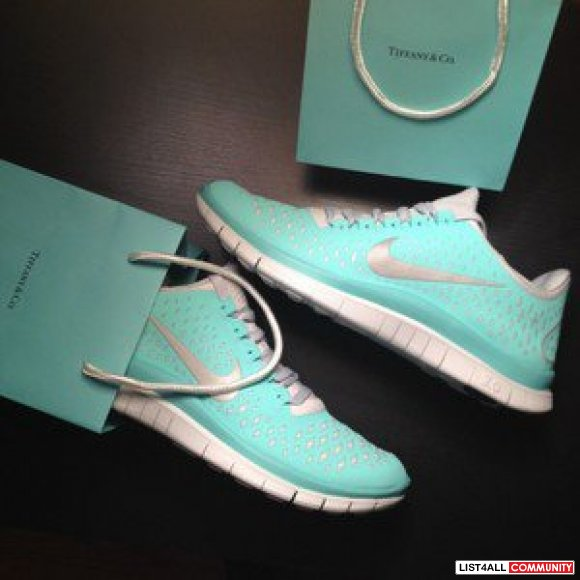 Tiffany Blue Nike Free Run