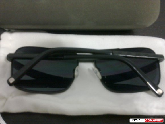 BLNQ Black Aviator Sunglasses